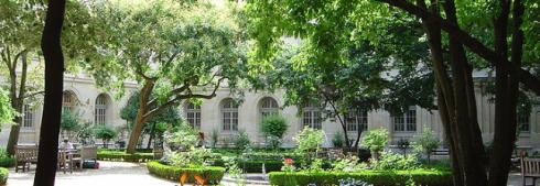 Cour aux ernests, jardin de l'Ecole normale supérieure