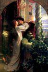 Amour Romeo et Juliette Frank Dicksee